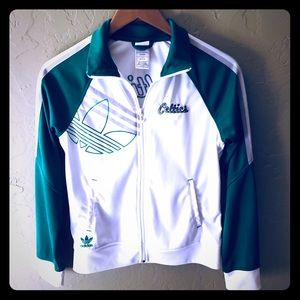 ADIDAS CELTICS Women's Small Jacket ☘️